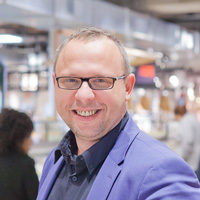 Rober Delver, formulemanager Plus Retail, deed een opleidingsreis bij The Food Research Company